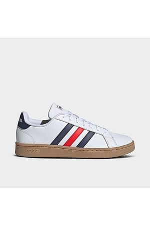 adidas Men's Grand Court Casual Shoes in /Cloud Size 7.0 Leather