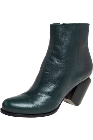 Maison Martin Margiela Leather Ankle Boots Size 40