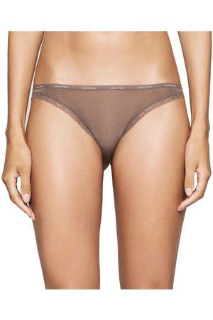 Calvin Klein Bottoms Up Bikini XL Smoke
