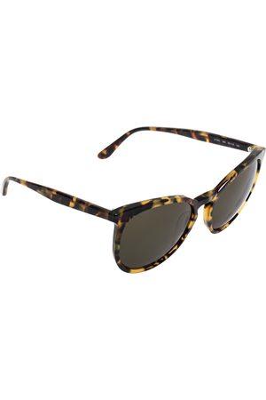 VALENTINO Havana/ V726S Round Sunglasses
