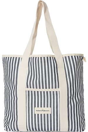 business & pleasure co. Women Tote Bags - The Beach Bag in Navy.