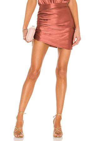 The Sei Women Mini Skirts - Gathered Asymmetrical Mini Skirt in .