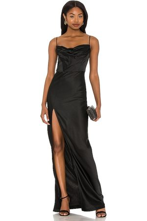 Nookie Dream Draped Gown in .
