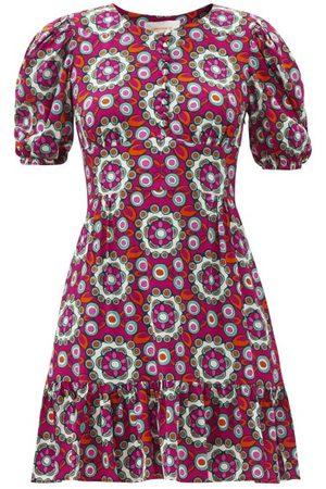 La DoubleJ Coquette Kaleidoscope-print Dress - Womens - Multi