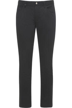 Armani 5 Pockets Stretch Cotton Pants