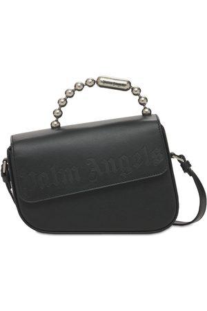 Palm Angels Leather Crash Shoulder Bag