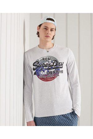 Superdry Men Long sleeves - Vintage Logo Itago Long Sleeve Top
