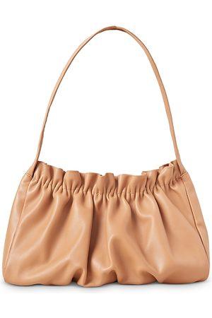 Loeffler Randall Alicia Gathered Leather Baguette Bag