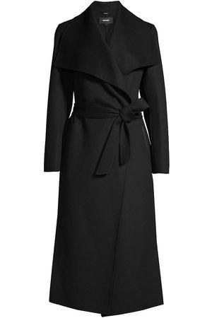 Mackage Women's Belted Light Wool Coat - - Size Medium