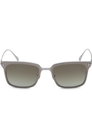 Tom Ford Men's Hayden 54MM Square Sunglasses - Dark Ruthen