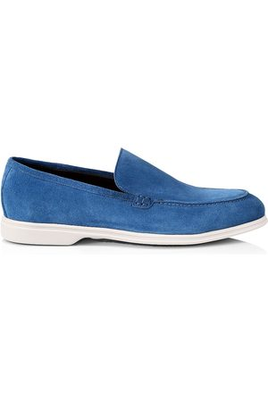 To Boot Men Loafers - Men's Suede Loafers - Bluette - Size 13
