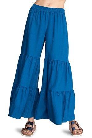 Trina Turk Women's Chill Out Tiered Pants - Mykonos - Size XS