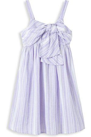 HABITUAL Little Girl's Drape Babydoll Dress - Lilac - Size 4