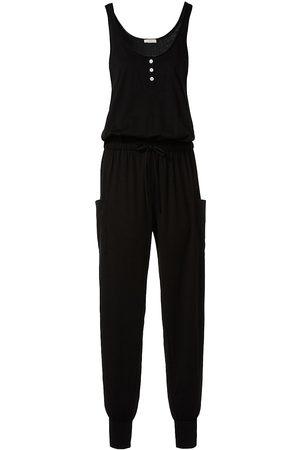 Eberjey Women's Brie Cargo Jumpsuit - - Size Medium