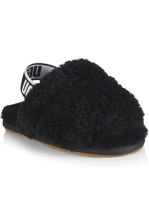UGG Baby's, Little Girl's & Girl's Fluff Yeah Shearling Slides - - Size 6 Sandals