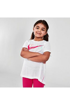 Nike Girls' Little Kids' Sportswear Dri-FIT Tunic Top in / / Size 4 Cotton/Polyester/Viscose