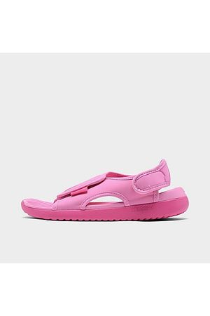 Nike Girls' Little Kids' Sunray Adjust 5 V2 Casual Sandals in /Psychic Size 1.0