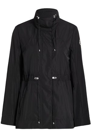 Moncler Women's Ocre Short Rain Jacket - - Size XXL