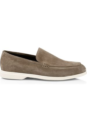 To Boot Men's Suede Loafers - Ardesia - Size 12