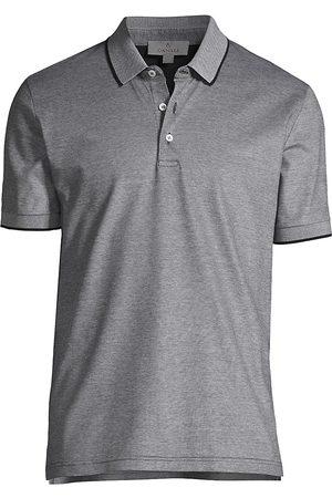 CANALI Men's Cotton Short Sleeve Polo - - Size 44
