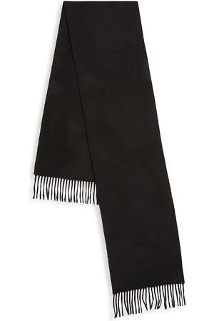 Paul Smith Men's College Stripe Fringe Scarf