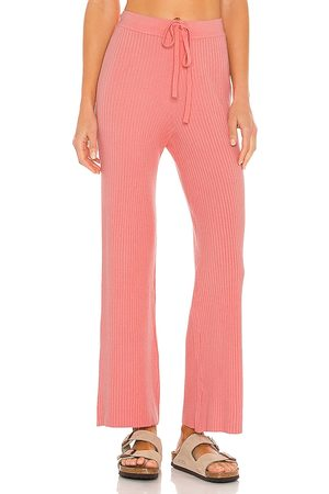 Lovers + Friends Inca Pant in Coral.