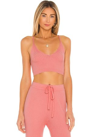Lovers + Friends Inca Tank in Coral.