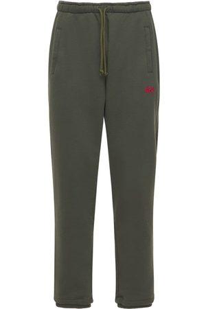 424 FAIRFAX Cotton Sweatpants W/ Embroidered Logo
