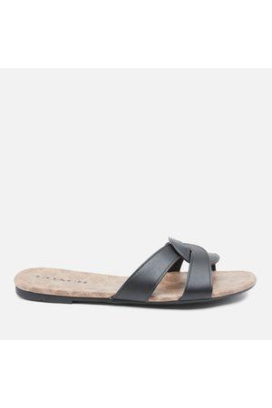 Coach Women Sandals - Women's Essie Leather Sandals