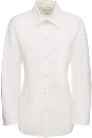 Bottega Veneta Stretch Cotton Poplin Classic Shirt