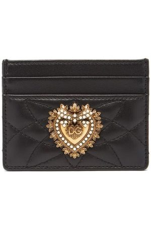 Dolce & Gabbana Women Purses - Devotion Quilted-leather Cardholder - Womens
