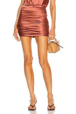 The Sei Women Mini Skirts - Pleated Mini Skirt in Rose