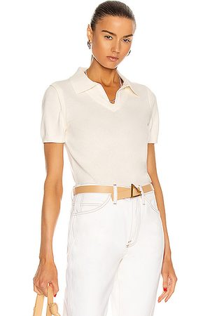 Victor Glemaud Women Polo Shirts - Color Block Polo Top in