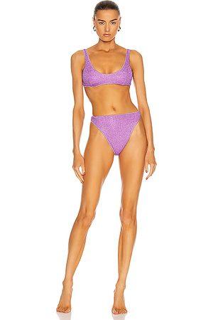 Oseree Women Bikinis - Lumiere 90s Two Piece Bikini in