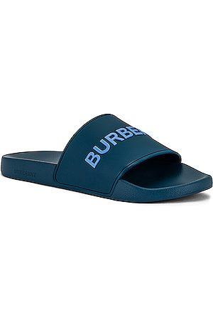 Burberry Furley Slide Sandal in