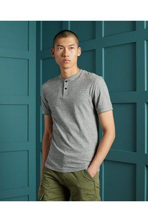 Superdry Men Short sleeves - Organic Cotton Short Sleeve Henley Top