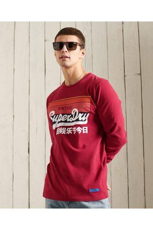 Superdry Men Tops - Vintage Logo Cali Stripe Top