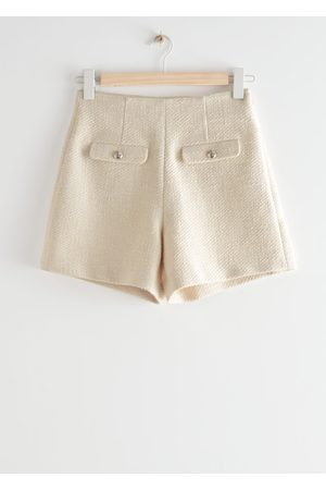 & OTHER STORIES Women Shorts - Textured Cotton Shorts