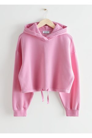 & OTHER STORIES Cropped Drawstring Hoodie