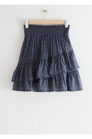 & OTHER STORIES Women Mini Skirts - Tiered Ruffle Smock Skirt