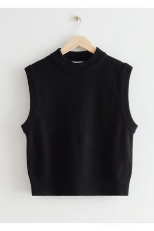 & OTHER STORIES Women Tank Tops - Relaxed Wool Knit Vest