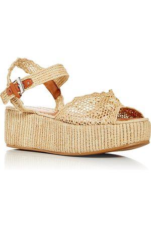 Robert Clergerie Women Sandals - Women's Aimie Woven Platform Sandals