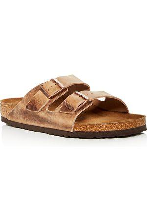 Birkenstock Men Sandals - Men's Arizona Slide Sandals