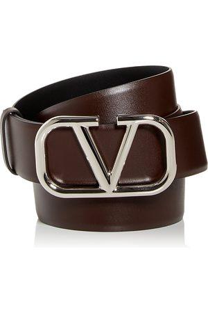 VALENTINO GARAVANI Men's Logo Buckle Reversible Leather Belt