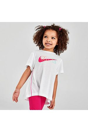 Nike Girls' Toddler Sportswear Dri-FIT Tunic Top in / / Size 2 Toddler Cotton/Polyester/Viscose