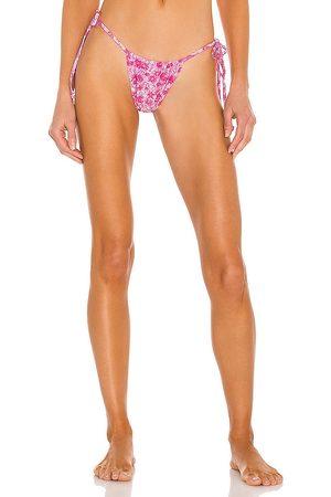 Frankies Bikinis Tia Shine Bikini Bottom in .