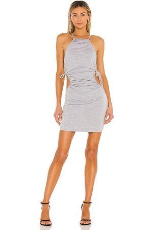 NBD Korinne Mini Dress in Grey.