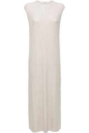 Loulou Studio Andrott Wool & Cashmere Knit Long Dress