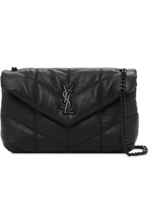 Saint Laurent Small Loulou Puffer Chain Shoulder Bag
