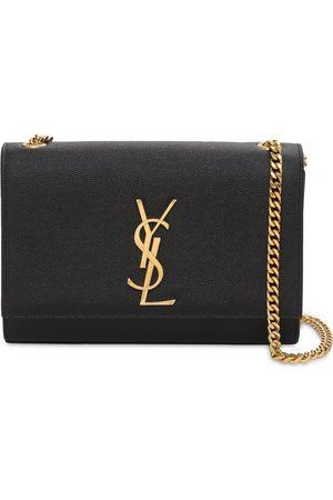 Saint Laurent Women Shoulder Bags - Medium Kate Grain Leather Shoulder Bag